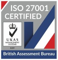 UKAS ISO 27001 Tick Mark