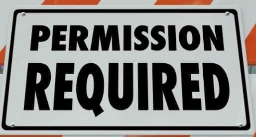 Regulatory permission – use it or lose it